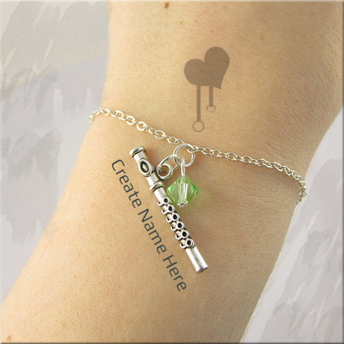 Write Your Name On Flute Bracelet Profile Picture