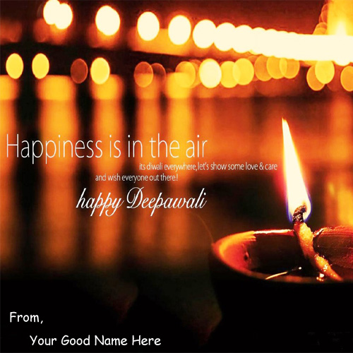 Awesome Greeting Diwali Wishes Cards Name Pix
