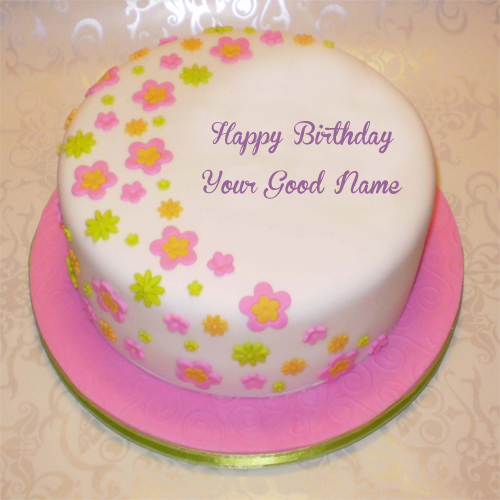 Birthday Wishes Awesome Name Cakes Pictures