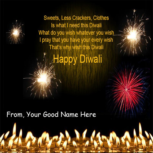 Awesome Diwali Wishes Latest DP Name Profile Pictures