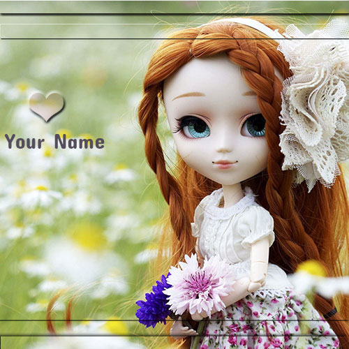 Online Print Name On Small Pretty Barbie Doll Pics