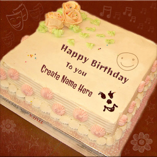 Happy Birthday To You Wishes Cake With Name