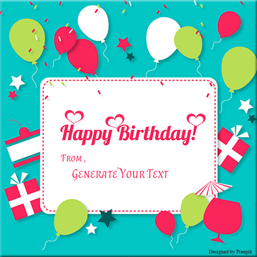 Happy Birthday Greeting Card Pics With Good Name