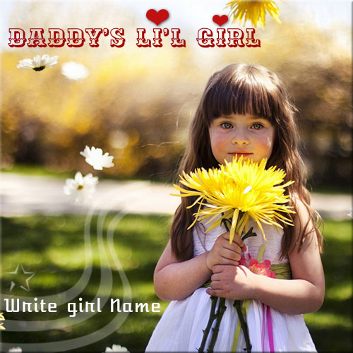 Generate Daddys Little Girl Name Pics Online