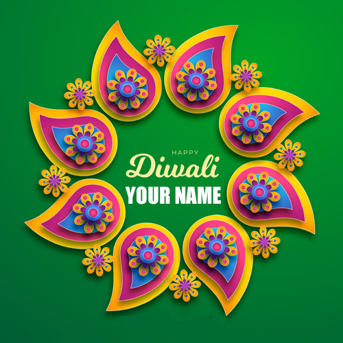 Diwali 2019 Holiday Greeting With Name