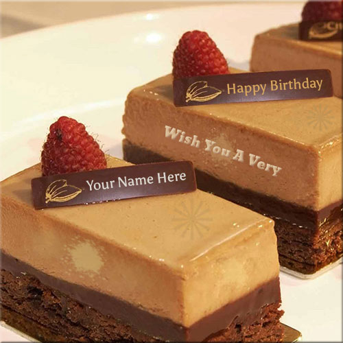 Wish You A Very Happy Birthday Cake Name Pics