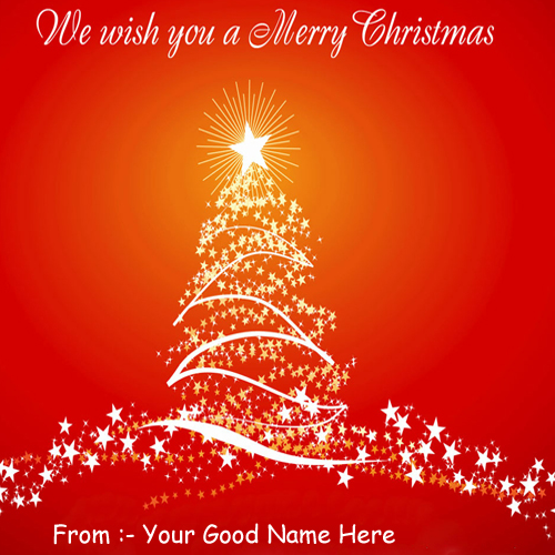 Happy Christmas Wishes Latest Best Name Profile Picture