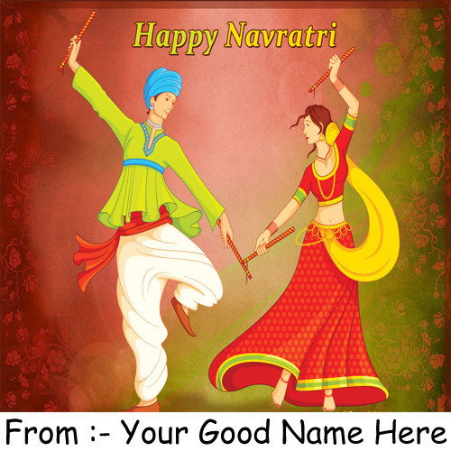 Happy Navratri Festival Wishes Best DP Name Pix