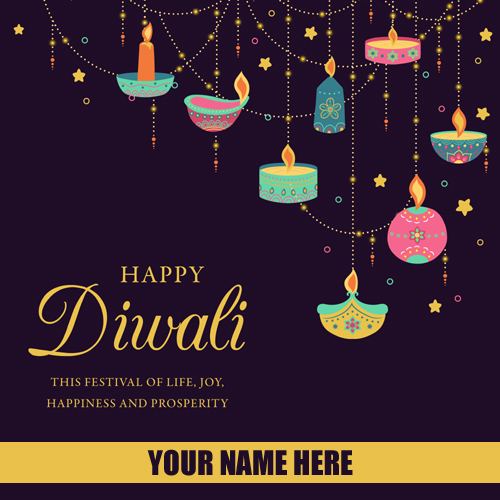 Happy Diwali 2019  Whatsapp Status With Name