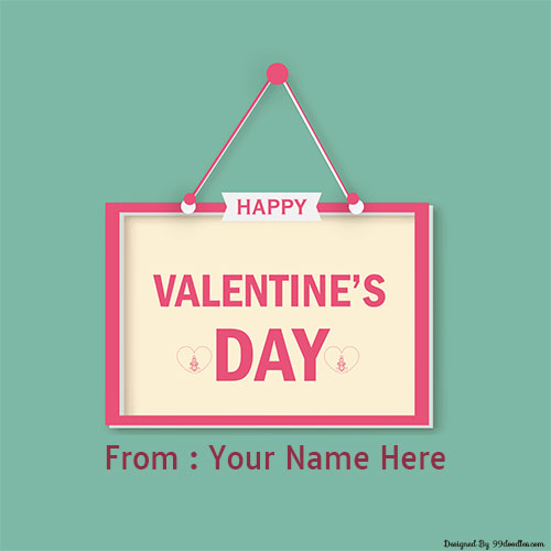 Generate Your Name With Happy Valentines Day Wishes
