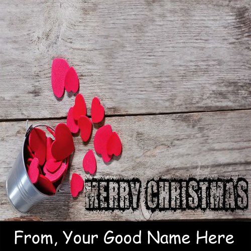 Beautiful Christmas Wishes Awesome Heart Name Pictures