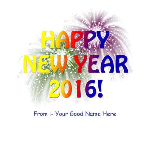 Best New Year Wishes 2016 Name Profile Pictures