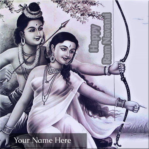 Happy Ram Navami Celebration Wishes Name Pics