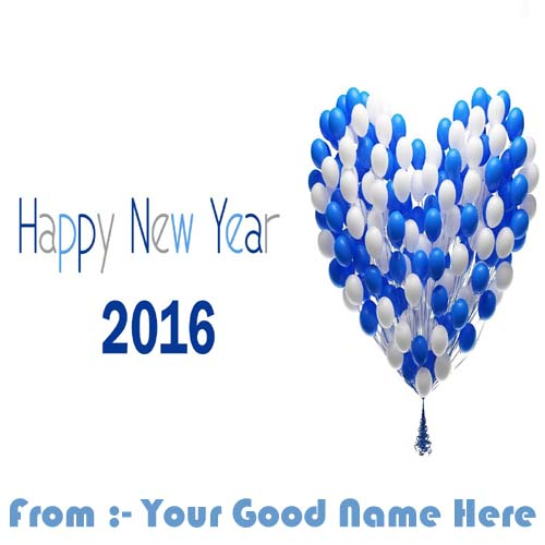 Happy New Year 2016 Best Name Wishes Pictures