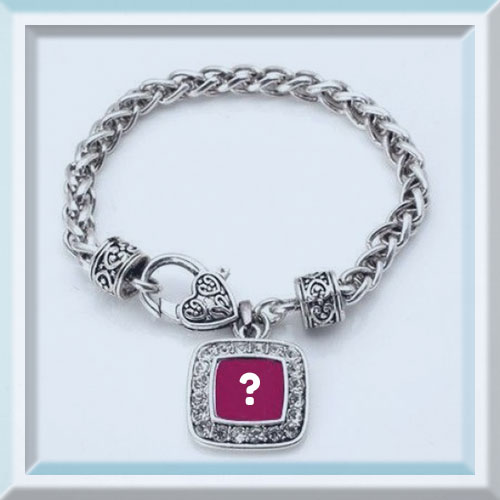 Customize Chain Bracelet Picture With Your Alphabet