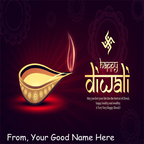 2015 Best Diwali Wishes Candles Name Greeting Pics