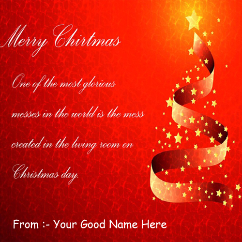 Merry Christmas Wishes Greeting DP Name Profile Pics